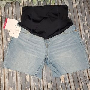 NWT - Isabel Maternity Jean Shorts - Sz 4